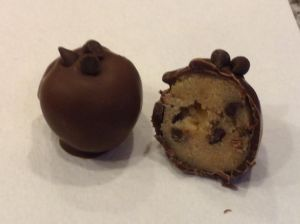 cookie dough truffle