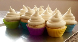 Lemon curd cupcakes with White Choc Frosting-2