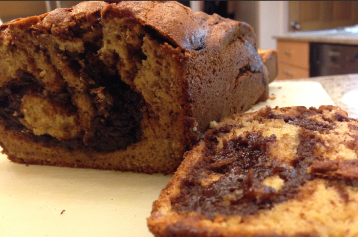 Nutella Banana Bread