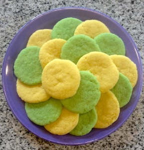 lemon & lime cookies