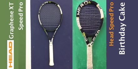 Head Tennis Racket Cake
