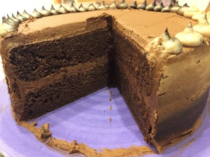 Inside Chocolate Ombre