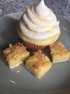 Lemon Bar Cupcake