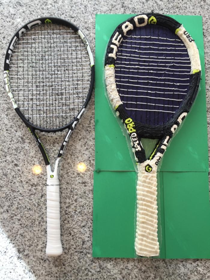Tennis Cake 3