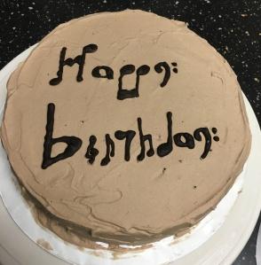 Hot Chocolate Merengue Cake